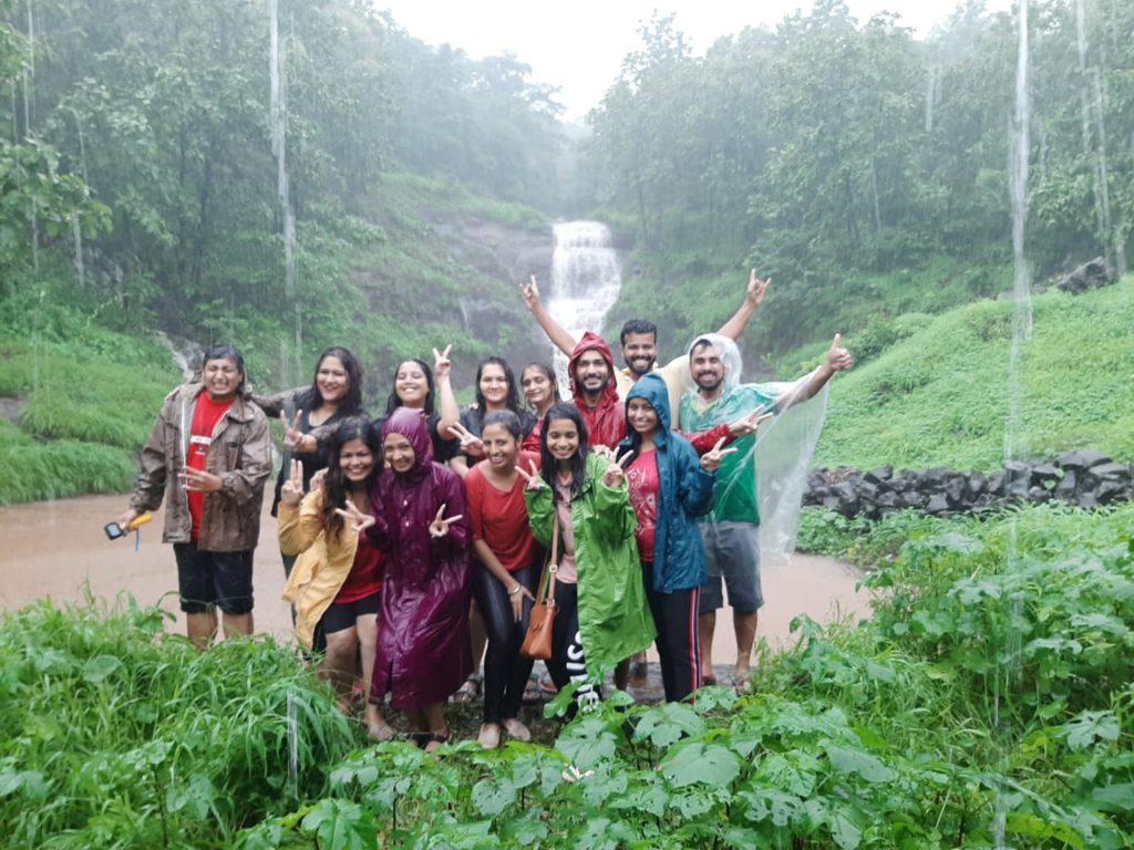 Waterfalls near karjat