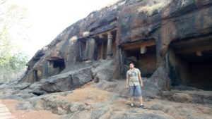 Trekking at kuda caves